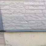 戸建てリフォーム外壁割れ修理と塗装