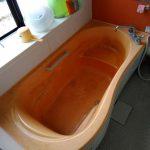 戸建てユニットバスリフォーム、清掃・シート・塗装
