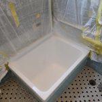 熊本県菊池郡泗水町、戸建て在来浴室、塗装・シートリフォーム